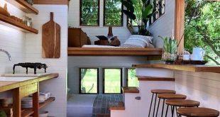 1 Stunning Tiny House Interior Design Ideas | Tiny house living .