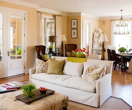 Living Room Color Scheme Warm Traditional   Living room color .