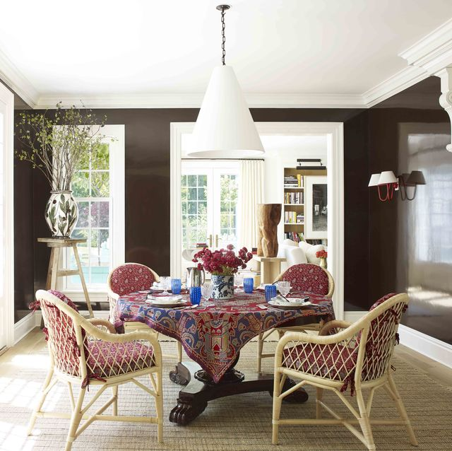 30 Best Dining Room Paint Colors - Color Schemes for Dining Roo