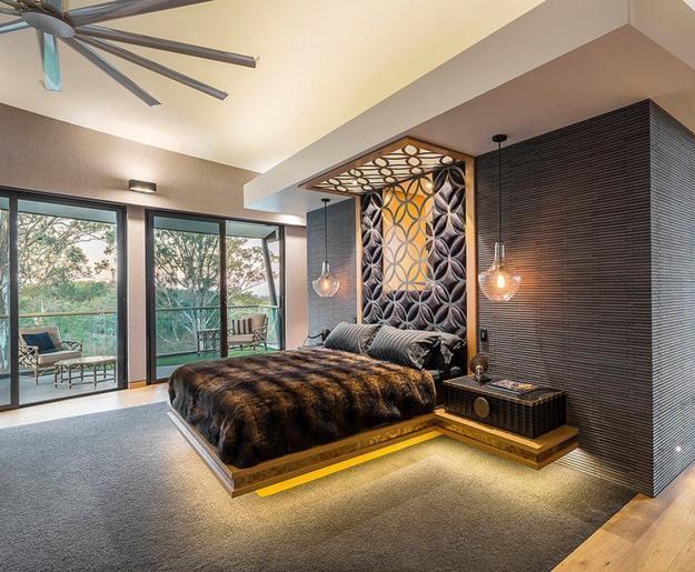 Bedroom Lighting Modern Design Trends Stylish Room Decorating .