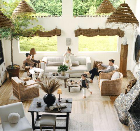 55 Best Living Room Curtain Ideas - Elegant Window Treatmen