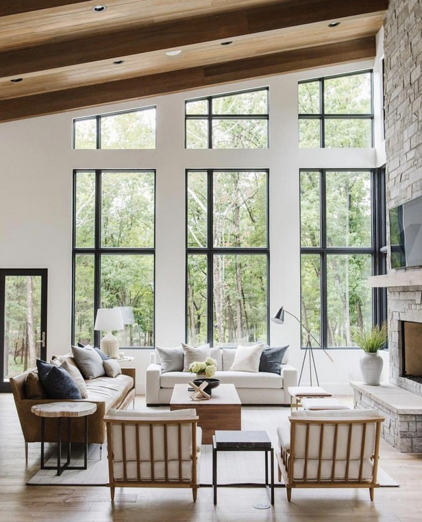 Trend Window Ideas for Modern Living Room