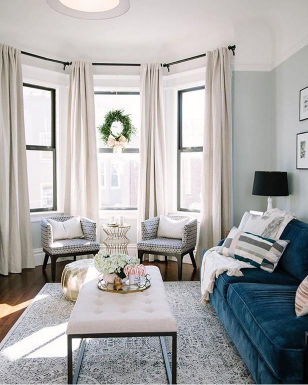 50 trend window ideas for modern living room 6 | homezide