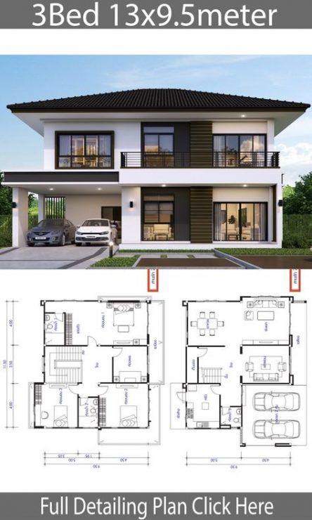 Home Design Plans Layout Garage 54+ Trendy Ideas | Architectural .