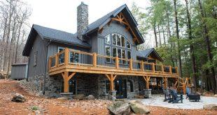 40 Popular Delightful Two Mountain House Design Ideas - The Main .