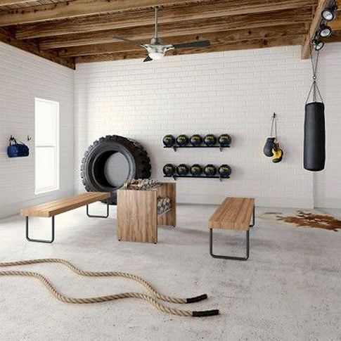 Ultimate Comfort Home Gym Basement Ideas