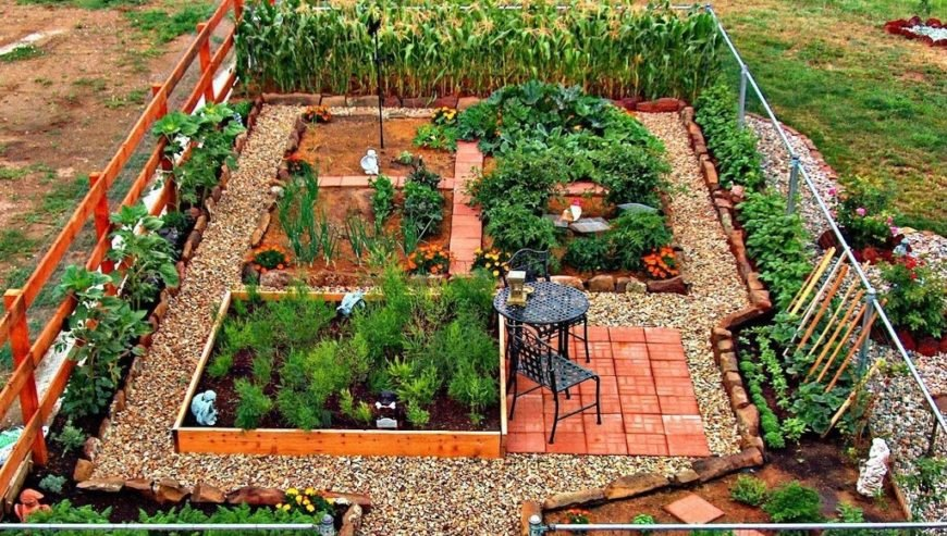 24 Fantastic Backyard Vegetable Garden Ideas - Home Stratosphe