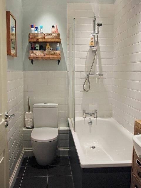 Small Bathroom Ideas that will Make the Most of a Tiny Spa