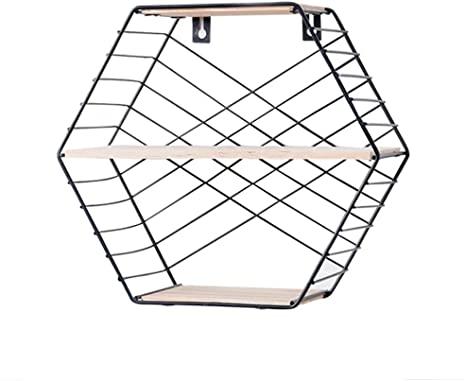 Amazon.com: Floating Shelf,Wall Mounted Modern Simple Geometry .